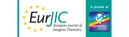 European Journal of  Inorganic Chemistry Logo  | © ChemPubSoc Europe