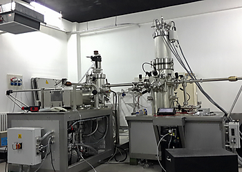 Cluster System with LT STM and Lab10 MBE at Peking University  | © Scienta Omicron