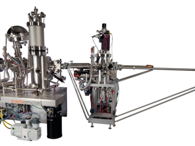 Combined Low-temperature Scanning Tunneling Microscope, Atomic Force Microscope (LT-STM/AFM), and Molecular Beam Epitaxy (MBE) System | © Scienta Omicron